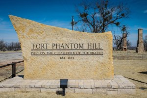 Entrance to Ft Phantom Hill