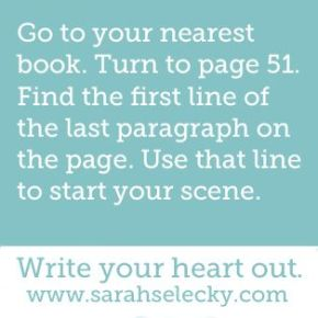 Writing Prompt Wednesday 9.24.14